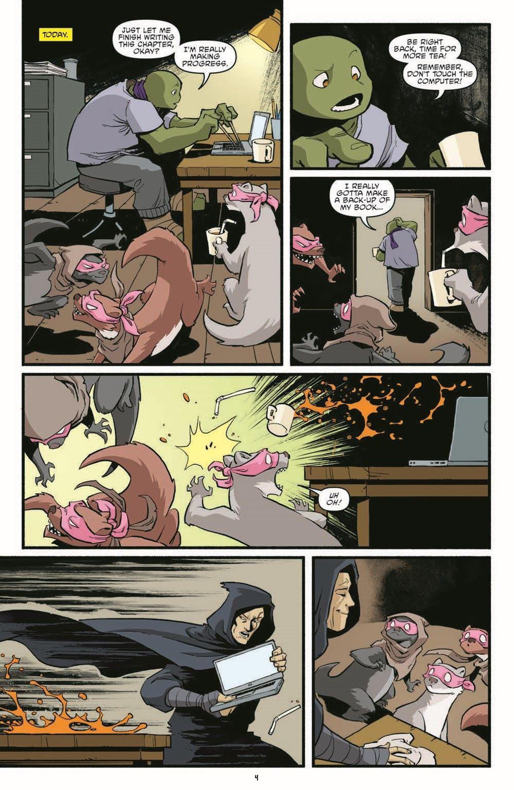 TMNT118_pr-6 ComicList Previews: TEENAGE MUTANT NINJA TURTLES #118