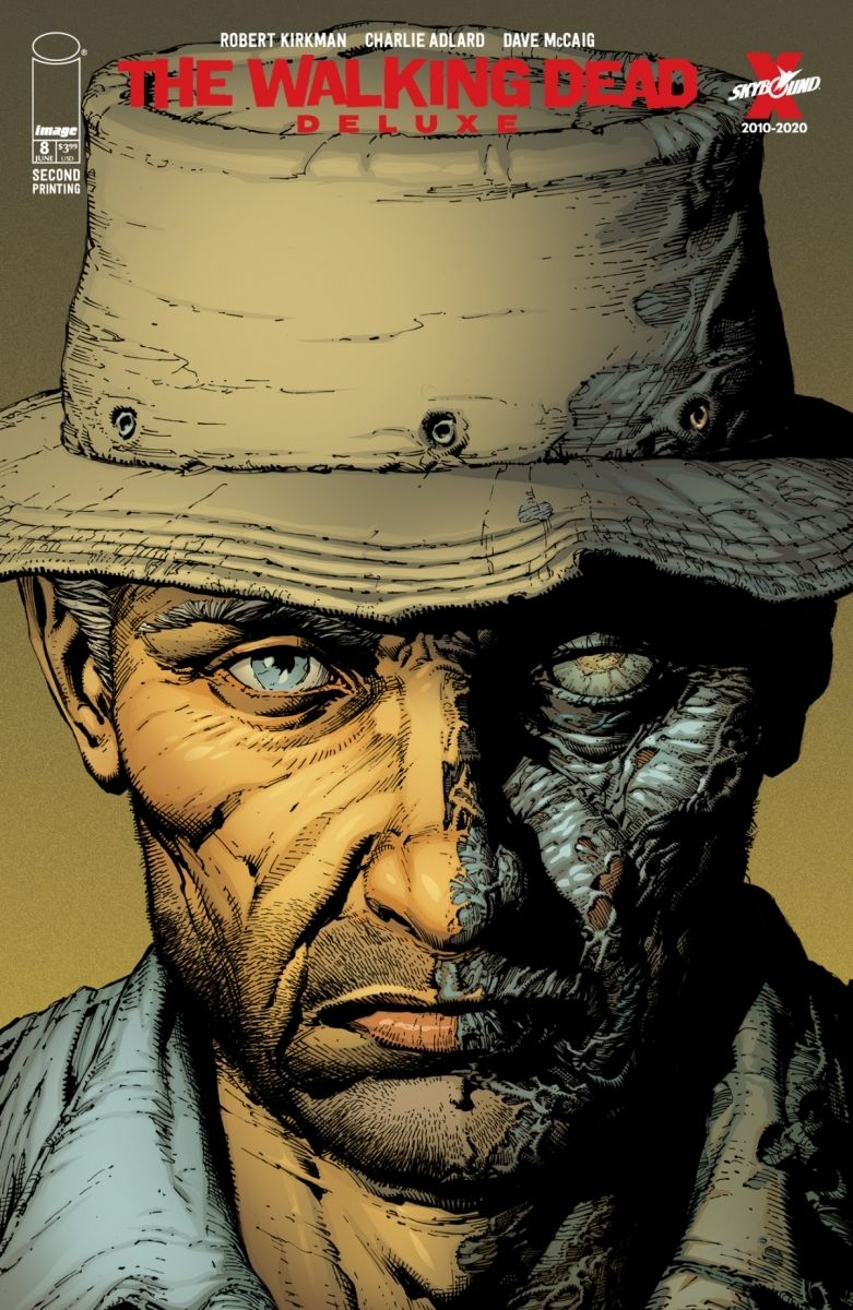 TWDDLX08A_2ndPtg_Finch1_c6815a0147f8285e3b5042ebb3626151-2 THE WALKING DEAD DELUXE #7-12 return with new printings