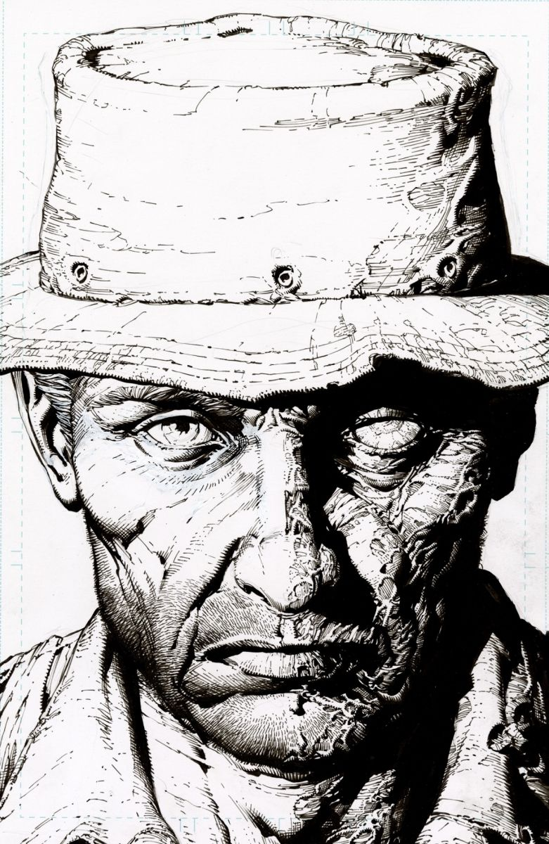 TWDDLX08B_2ndPtg_BWFinch1_c6815a0147f8285e3b5042ebb3626151-2 THE WALKING DEAD DELUXE #7-12 return with new printings