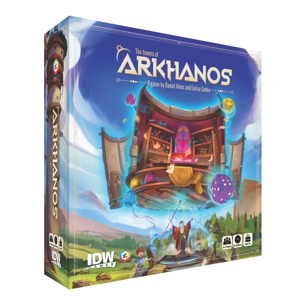 TowersOfArkhanos_Box_Mock IDW Publishing September 2021 Solicitations