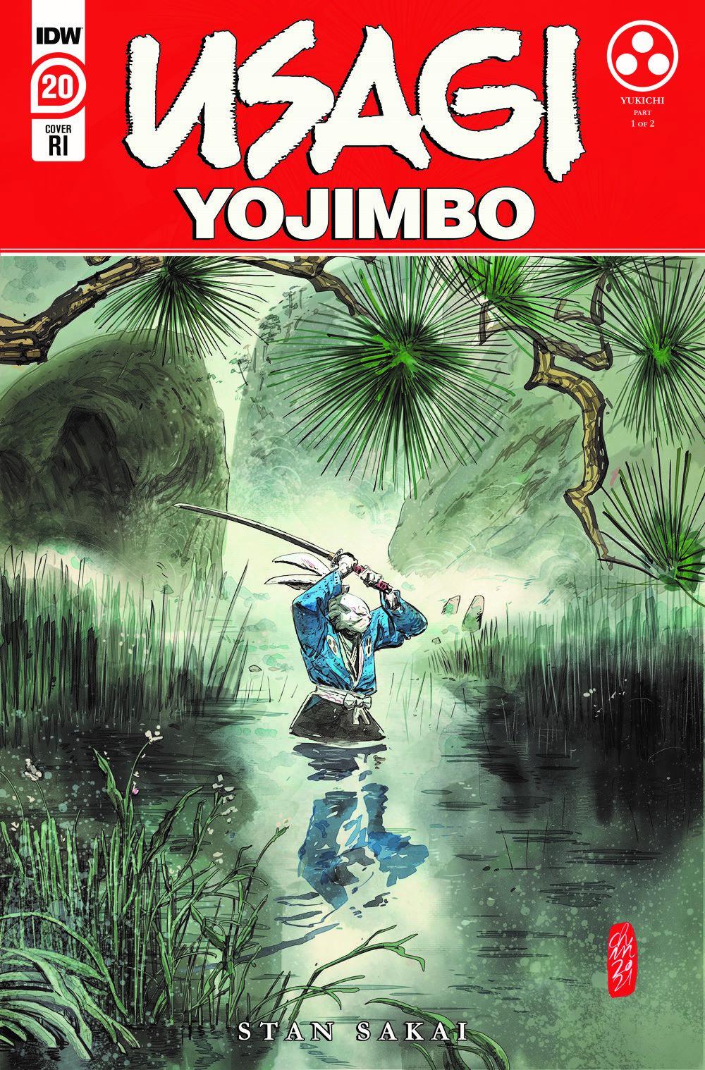 Usagi20_cvrRI ComicList Previews: USAGI YOJIMBO #20