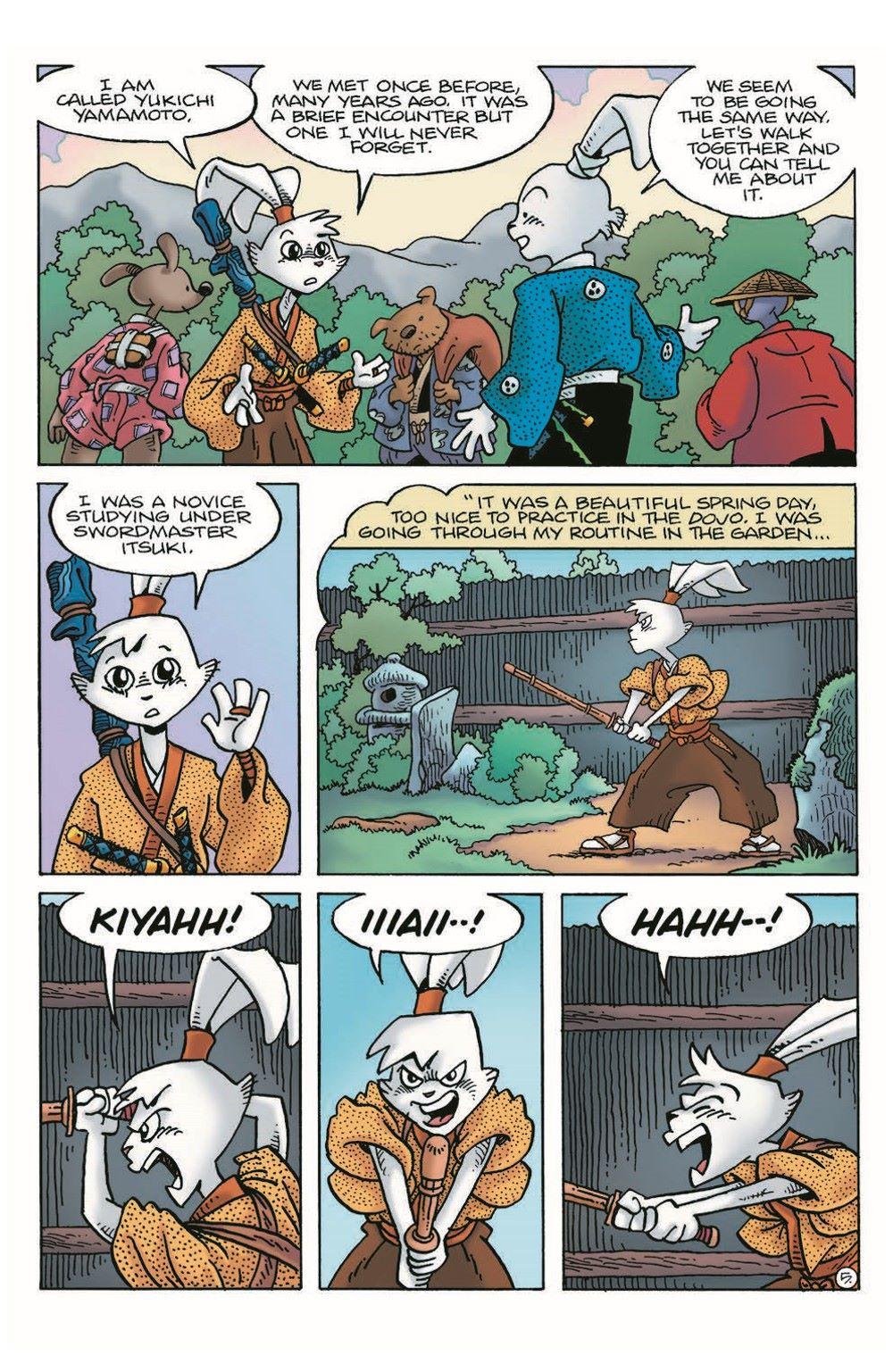 Usagi20_pr-7 ComicList Previews: USAGI YOJIMBO #20