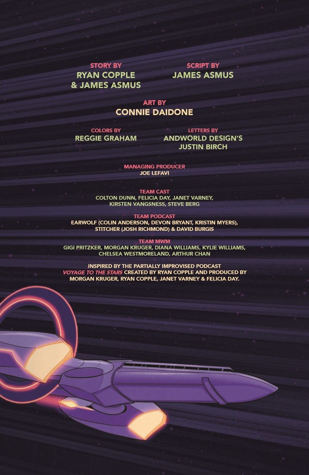 VTTS_TPB_pr-3 ComicList Previews: VOYAGE TO THE STARS TP