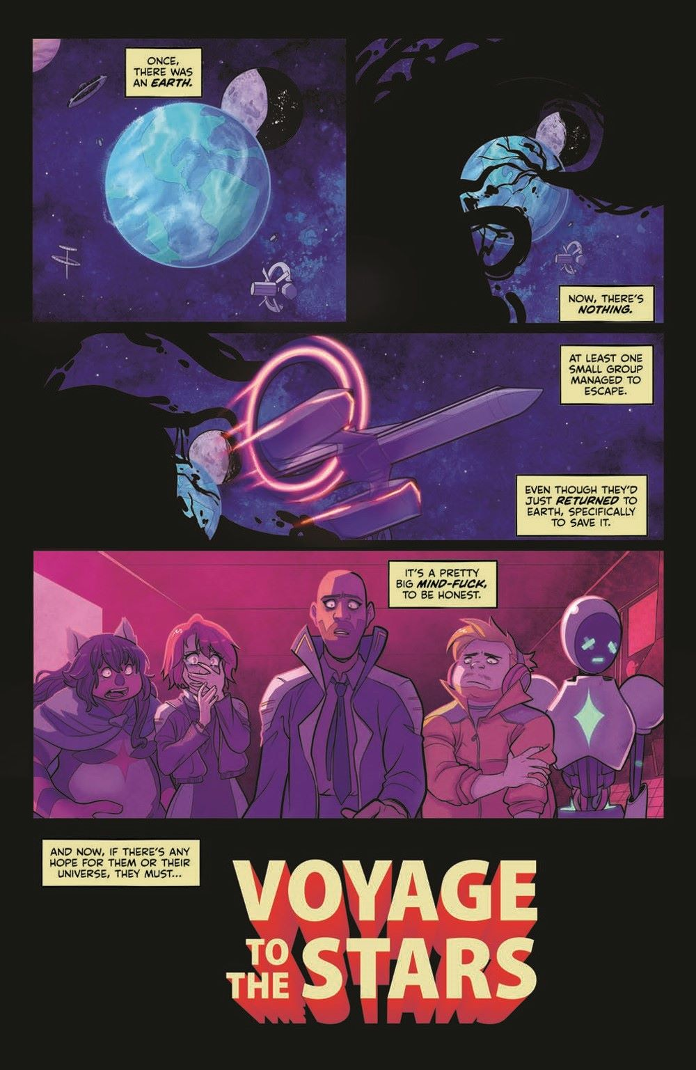 VTTS_TPB_pr-4 ComicList Previews: VOYAGE TO THE STARS TP