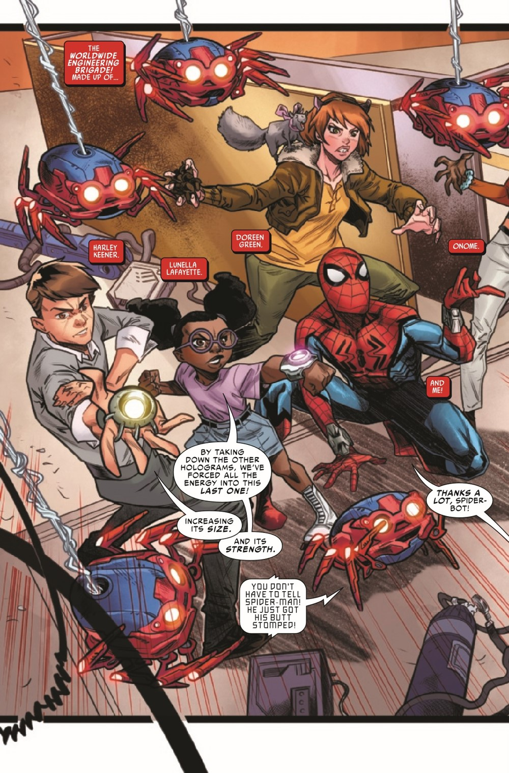 WEBOFSM2020002_Preview-4 ComicList Previews: W.E.B. OF SPIDER-MAN #2 (OF 5)