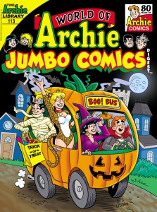 WOArchieJumbo113-223x300 Archie Comic Publications September 2021 Solicitations