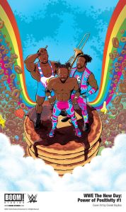 WWE_NewDay_PowerPositivity_001_Cover_PROMO-1-178x300 First Look at WWE THE NEW DAY: POWER OF POSITIVITY #1 from BOOM! Studios