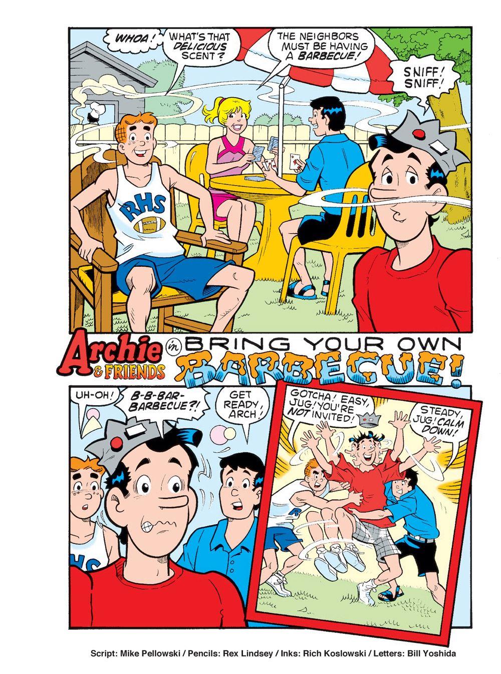 WorldOfArchieJumboComicsDigest_110-5 ComicList Previews: WORLD OF ARCHIE JUMBO COMICS DIGEST #110