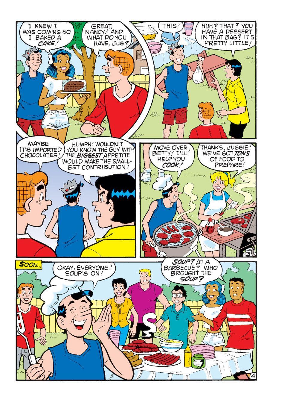 WorldOfArchieJumboComicsDigest_110-8 ComicList Previews: WORLD OF ARCHIE JUMBO COMICS DIGEST #110