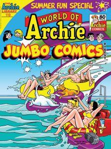 WorldOfArchieJumboComicsDigest_110_Cover_Kennedy-223x300 ComicList Previews: WORLD OF ARCHIE JUMBO COMICS DIGEST #110