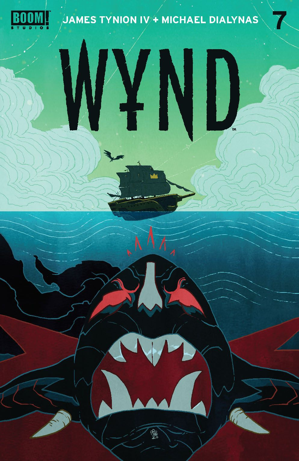 Wynd_007_Cover_A_Main ComicList: BOOM! Studios New Releases for 06/16/2021