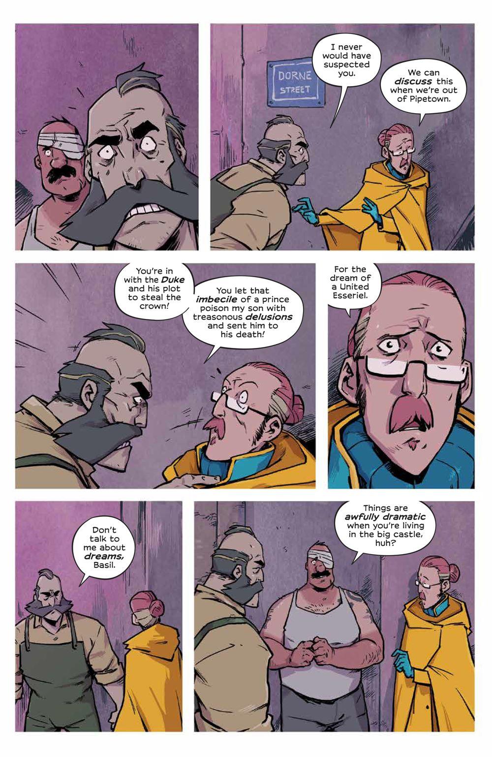 Wynd_007_PRESS_6 ComicList Previews: WYND #7