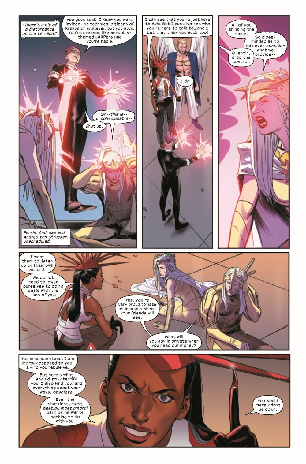 XCORP2021002_Preview-3 ComicList Previews: X-CORP #2