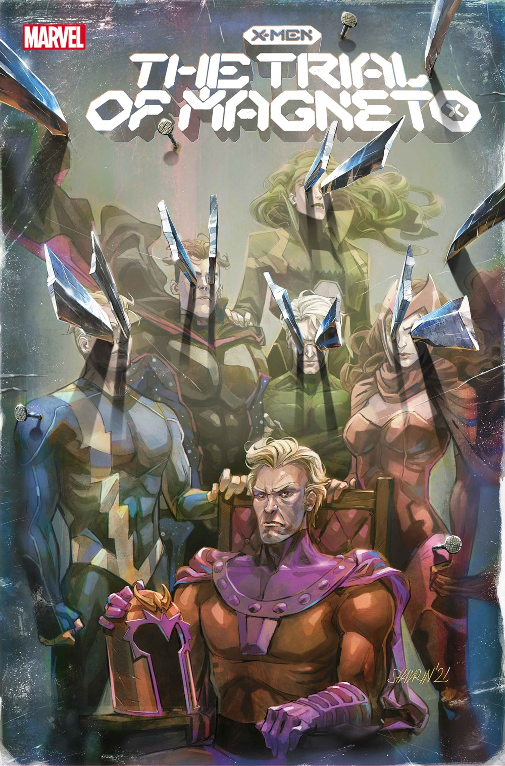 XMENTRIAL2021002_ShavrinVar Marvel Comics September 2021 Solicitations