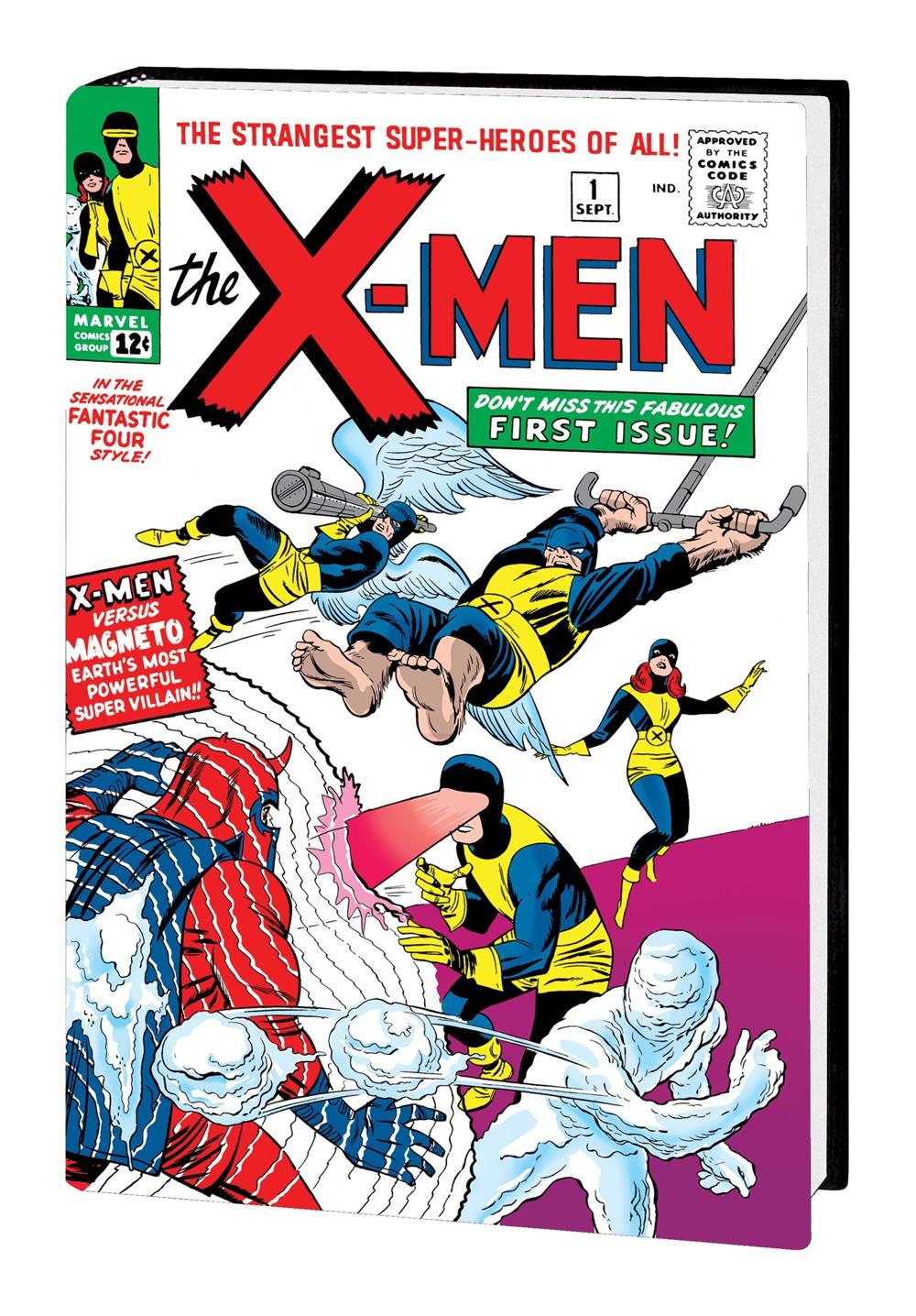 XMEN_OMNI_V1_HC_Kirby Marvel Comics September 2021 Solicitations