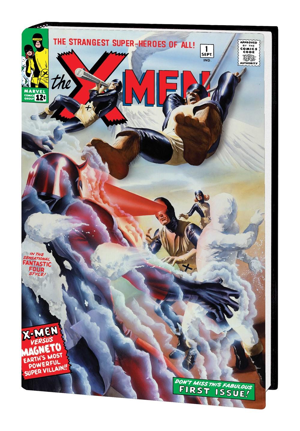 XMEN_OMNI_V1_HC_Ross Marvel Comics September 2021 Solicitations