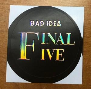badidea5-300x296 BAD IDEA to announce final five titles soon