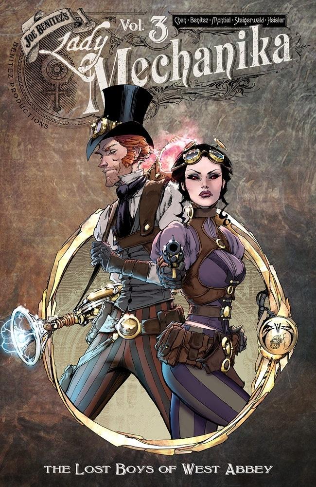 ladymechanika_tp3 Image Comics September 2021 Solicitations