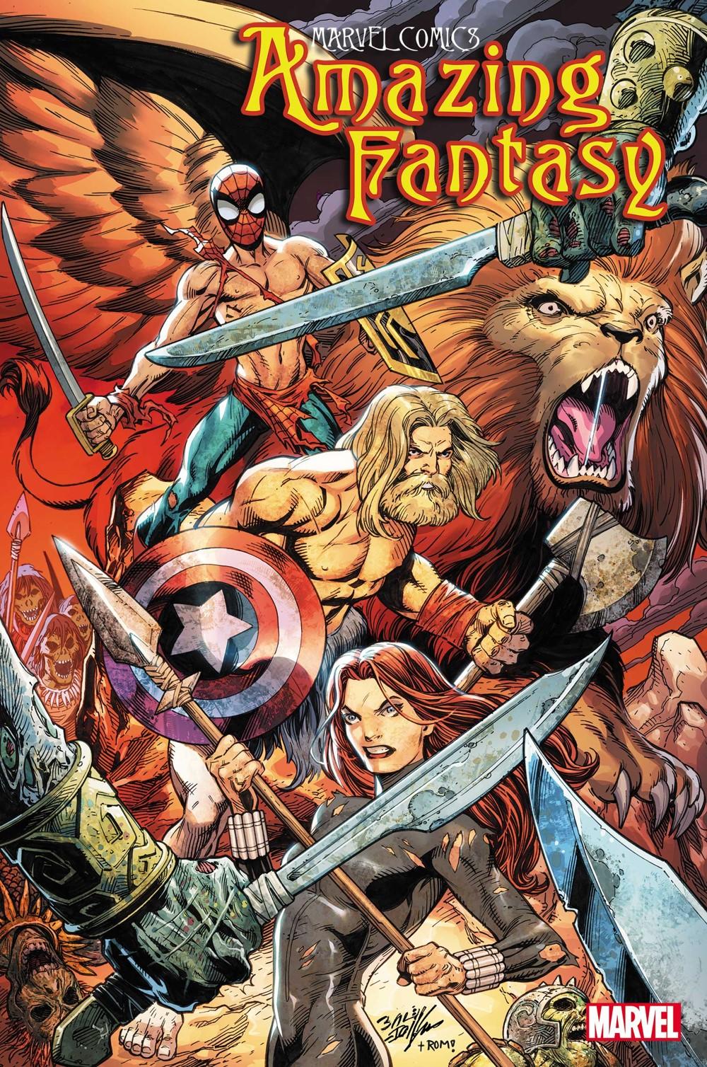 AMFAN2021004_Bagley-Var-Cov Marvel Comics October 2021 Solicitations