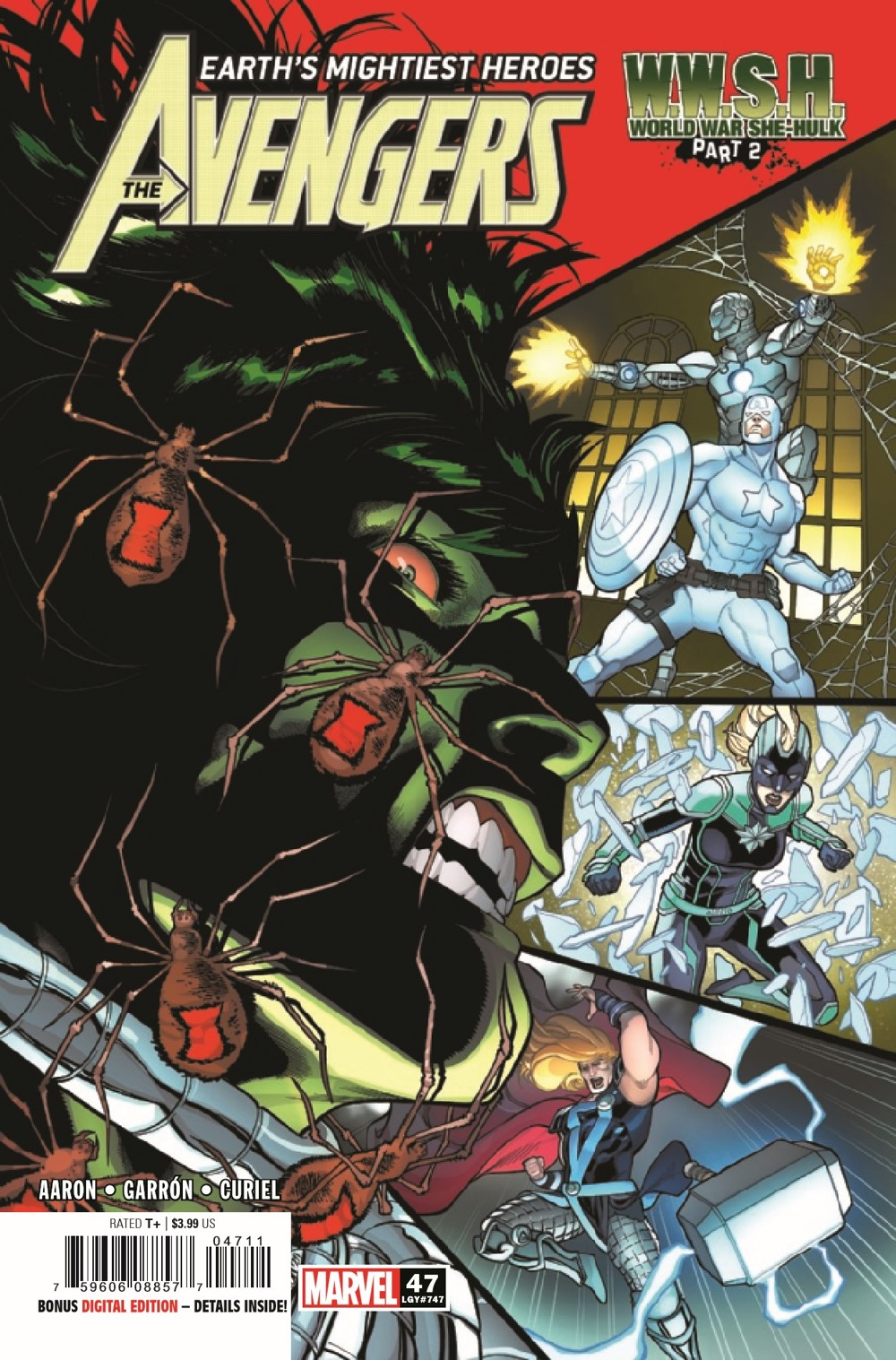 AVEN2018047_Preview-1 ComicList Previews: THE AVENGERS #47