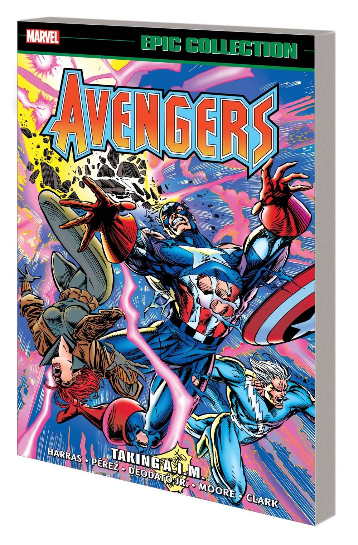 AVENEPIC_V26_TPB Marvel Comics October 2021 Solicitations