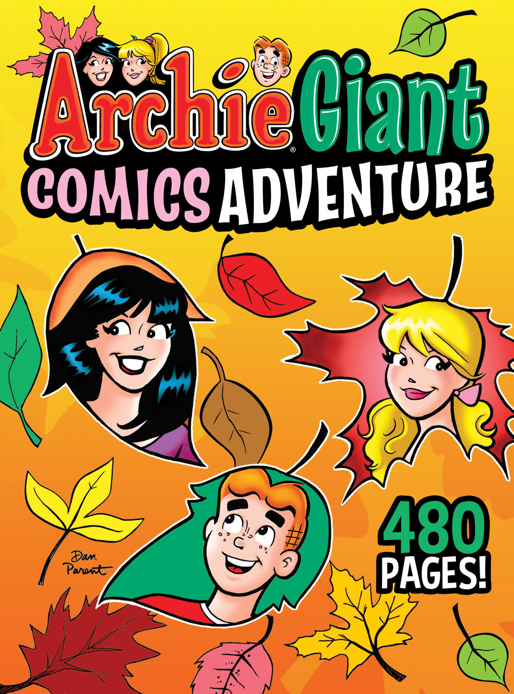ArchieGiantComicsAdventure Archie Comic Publications October 2021 Solicitations