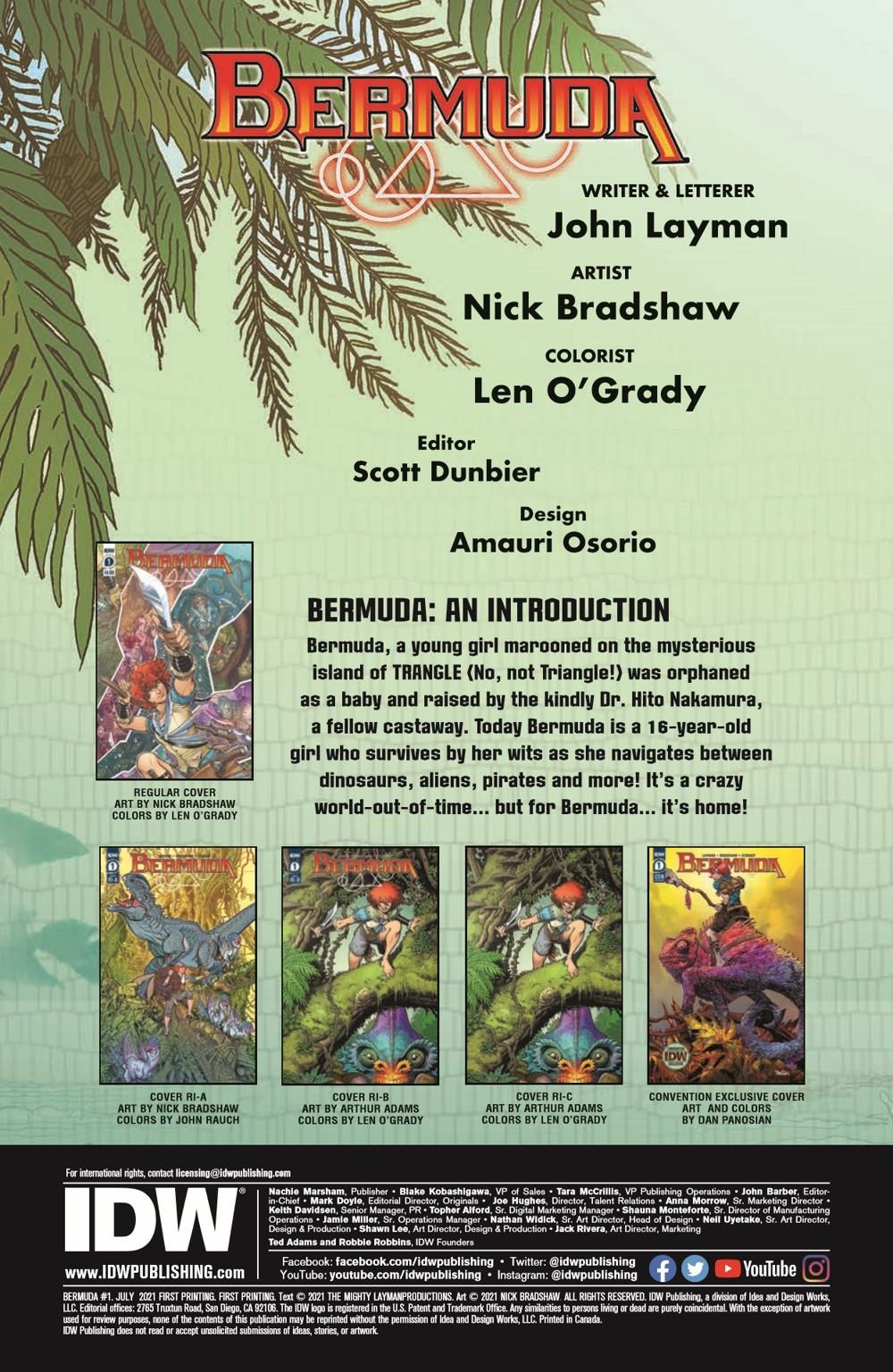 BERMUDA_01-pr-2 ComicList Previews: BERMUDA #1 (OF 4)
