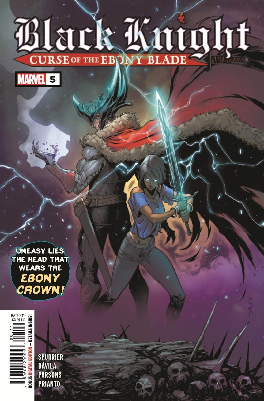 BLKKNGHTCURSE2021005_Preview-1 ComicList Previews: BLACK KNIGHT CURSE OF THE EBONY BLADE #5 (OF 5)