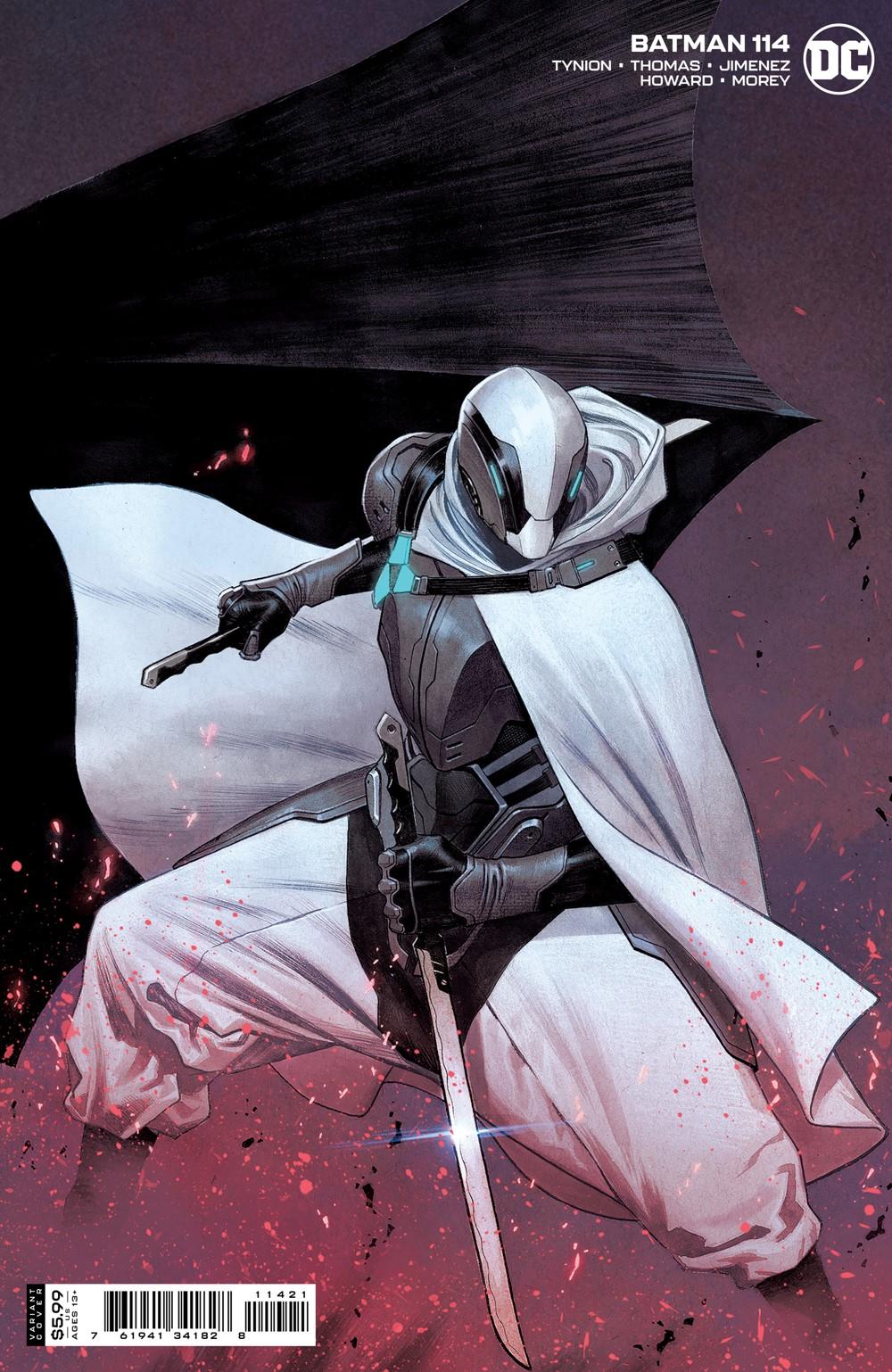 BM_Cv114_var_11421 DC Comics October 2021 Solicitations