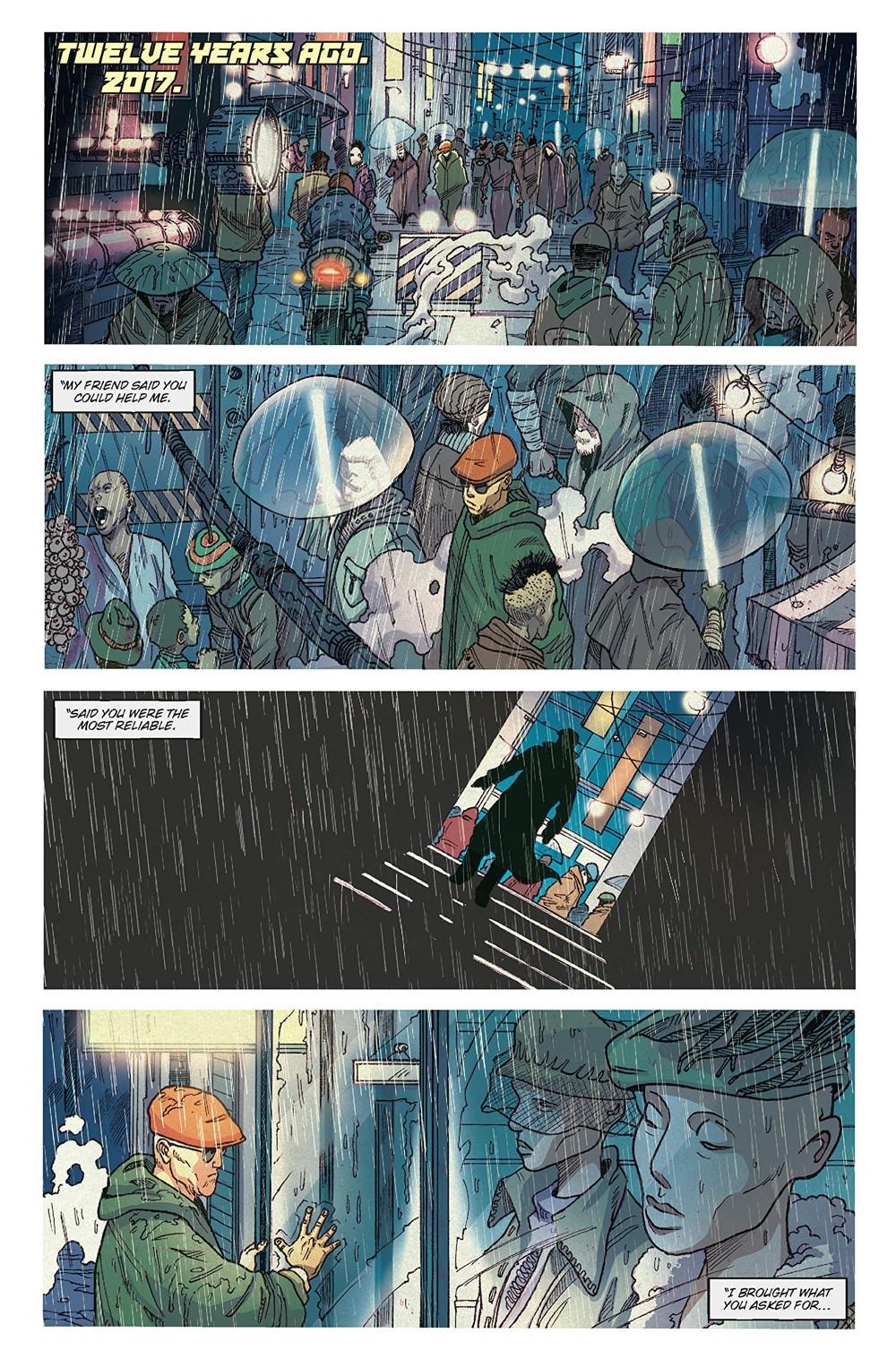 BR-Reunion-1 ComicList Previews: BLADE RUNNER 2029 VOLUME 1 REUNION TP