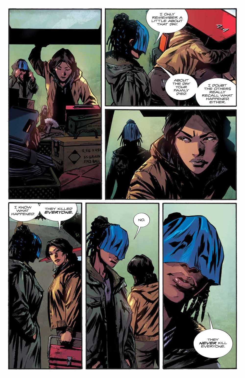Basilisk_003_PRESS_7 ComicList Previews: BASILISK #3