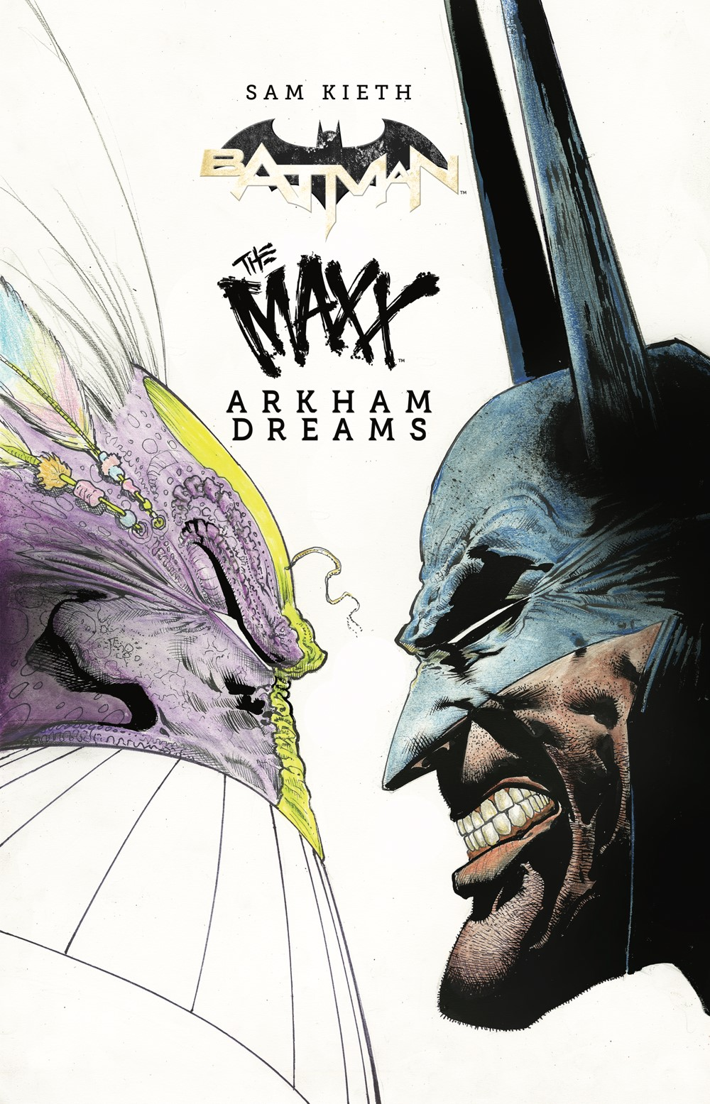 Batman-Maxx-HC_cvr ComicList Previews: BATMAN THE MAXX ARKHAM DREAMS HC