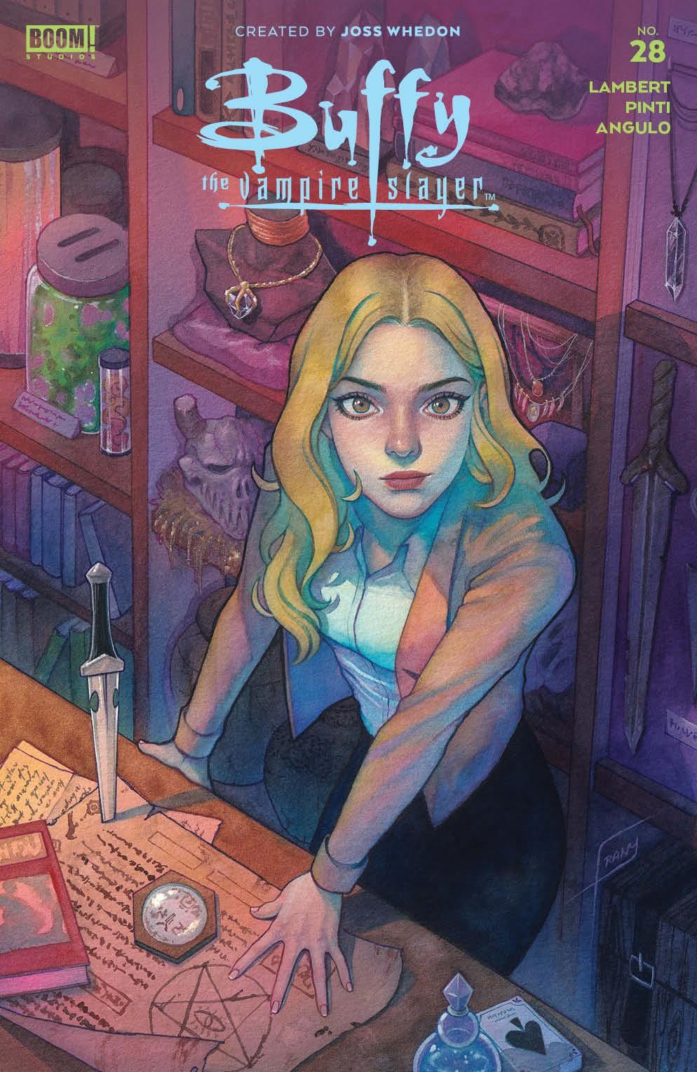 Buffy_028_Cover_A_Main ComicList Previews: BUFFY THE VAMPIRE SLAYER #28