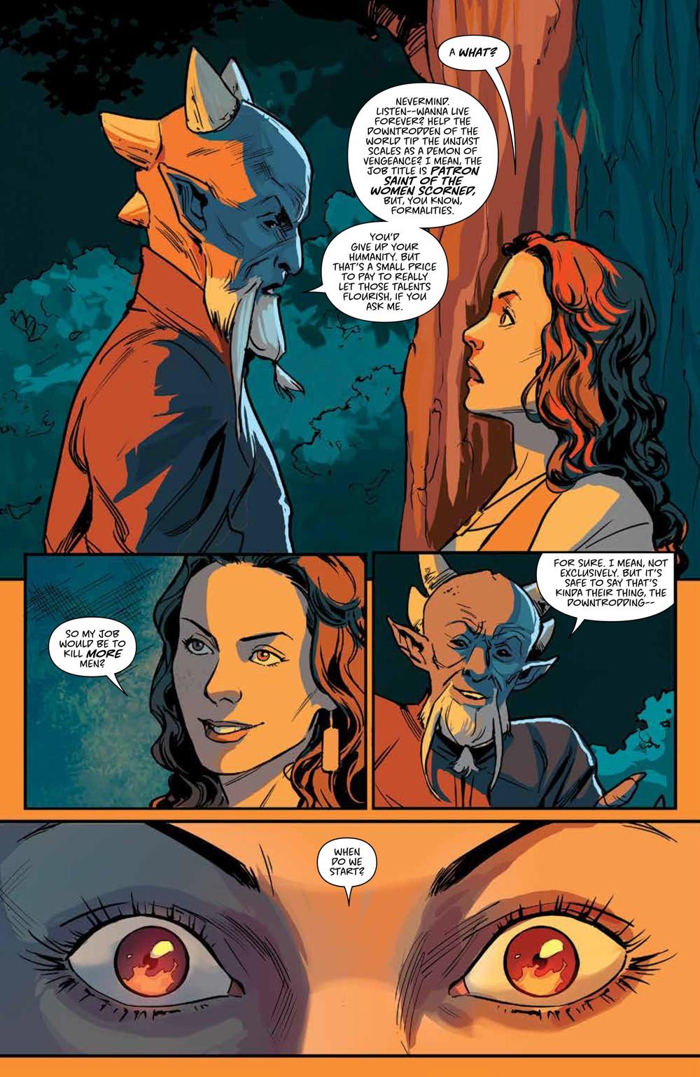 Buffy_v6_SC_PRESS_13 ComicList Previews: BUFFY THE VAMPIRE SLAYER VOLUME 6 SECRETS OF THE SLAYER TP
