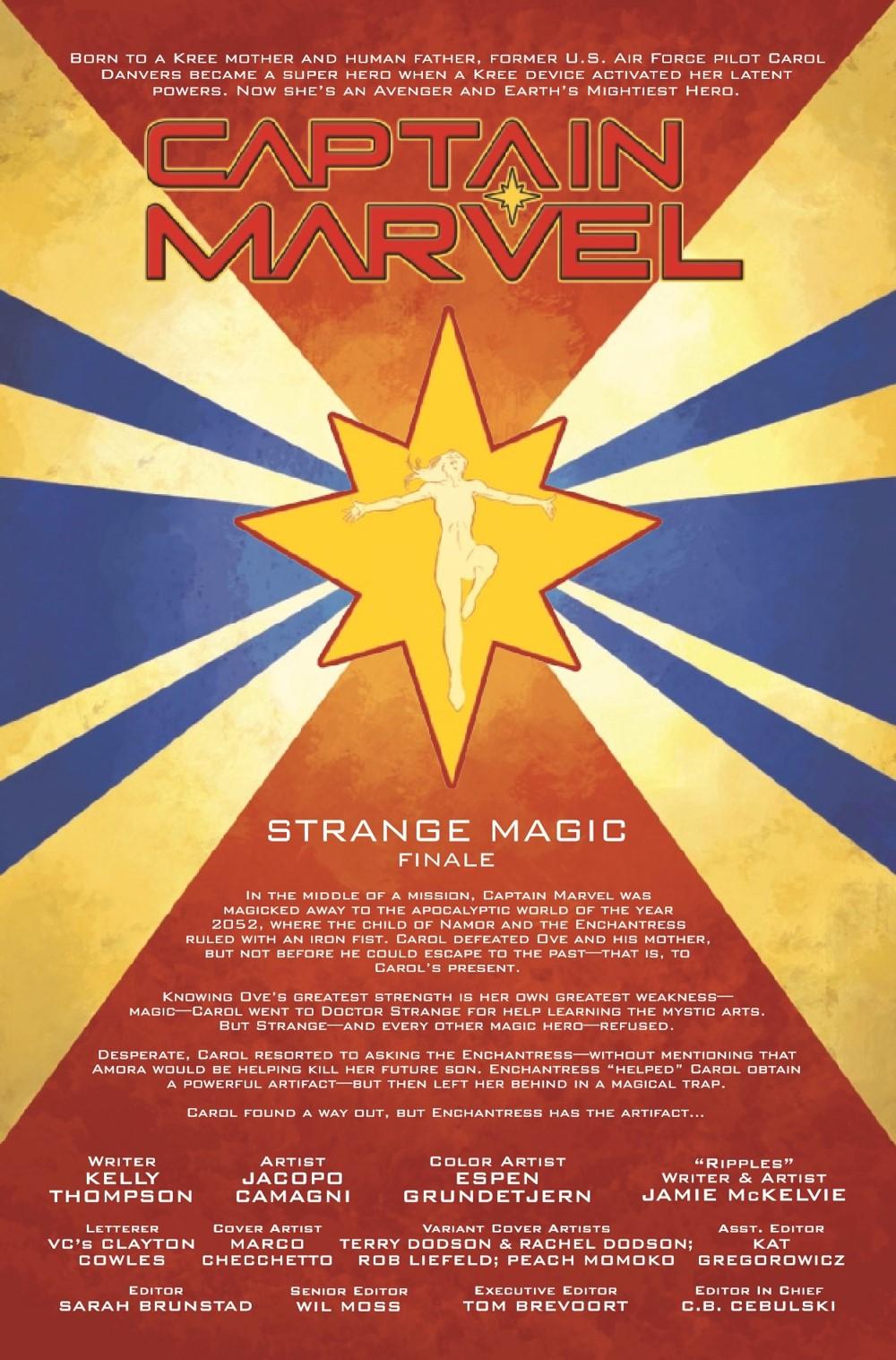CAPMARV2019030_Preview-2 ComicList Previews: CAPTAIN MARVEL #30