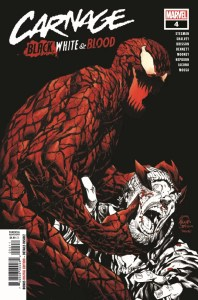 CARNBLKWHBL2021004_Preview-1-198x300 ComicList Previews: CARNAGE BLACK WHITE AND BLOOD #4 (OF 4)