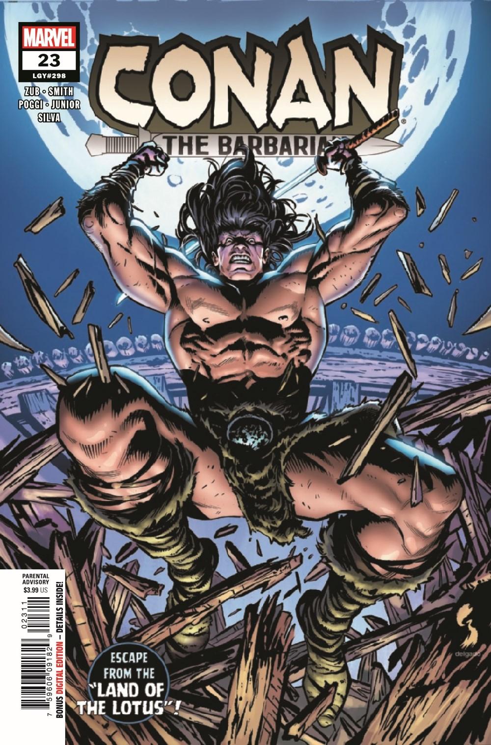 CONANBARB2019023_Preview-1 ComicList Previews: CONAN THE BARBARIAN #23