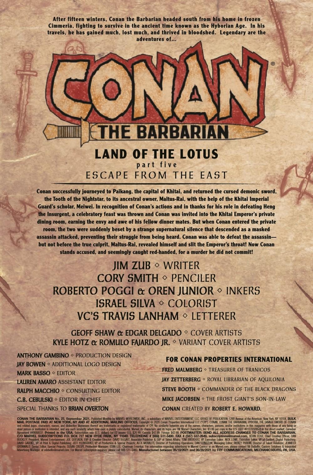 CONANBARB2019023_Preview-2 ComicList Previews: CONAN THE BARBARIAN #23