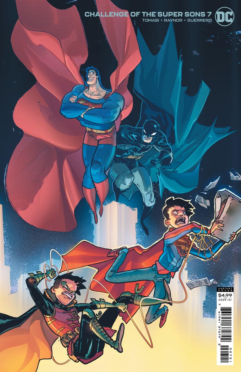 COTSuperSons_Cv7_var_00721 DC Comics October 2021 Solicitations