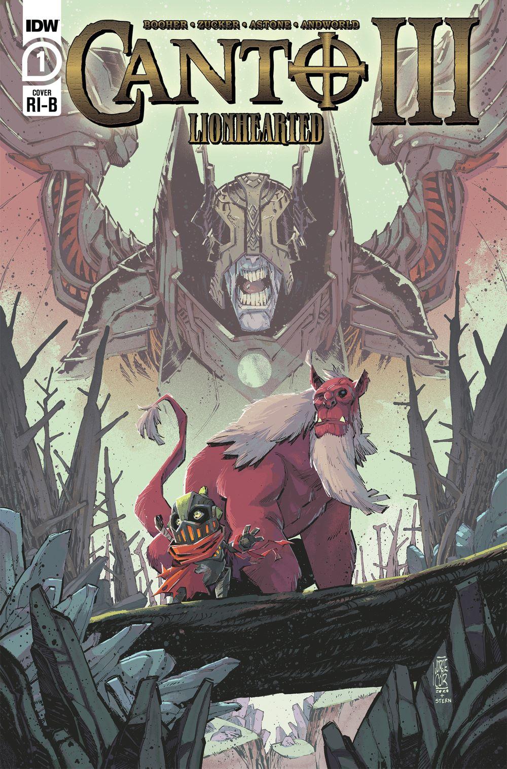 Canto-Lionhearted01_cvrRI-B ComicList Previews: CANTO III LIONHEARTED #1 (OF 6)