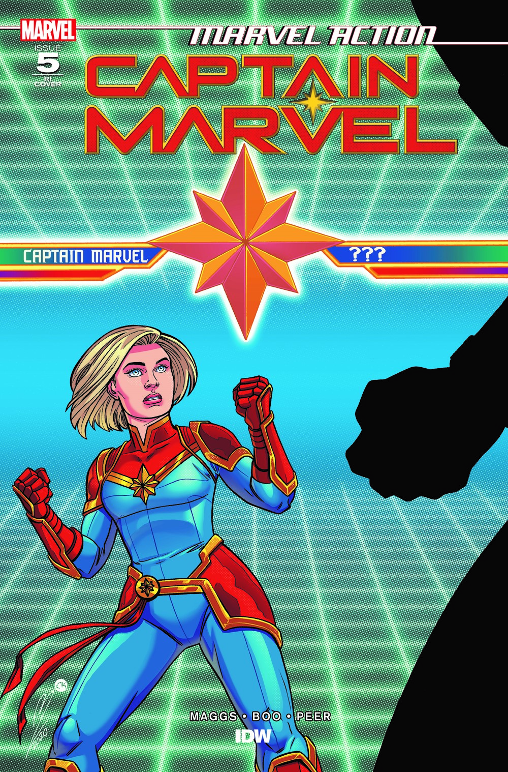 CaptainMarvel_RIcvr_05 ComicList: IDW Publishing New Releases for 07/28/2021