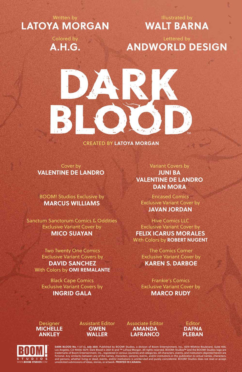 DarkBlood_001_PRESS_2 ComicList Previews: DARK BLOOD #1 (OF 6)