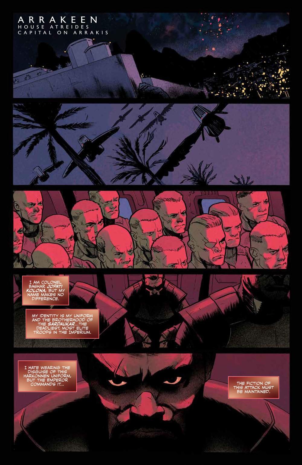 Dune_BloodSardaukar_001_PRESS_4 ComicList Previews: DUNE BLOOD OF THE SARDAUKAR #1