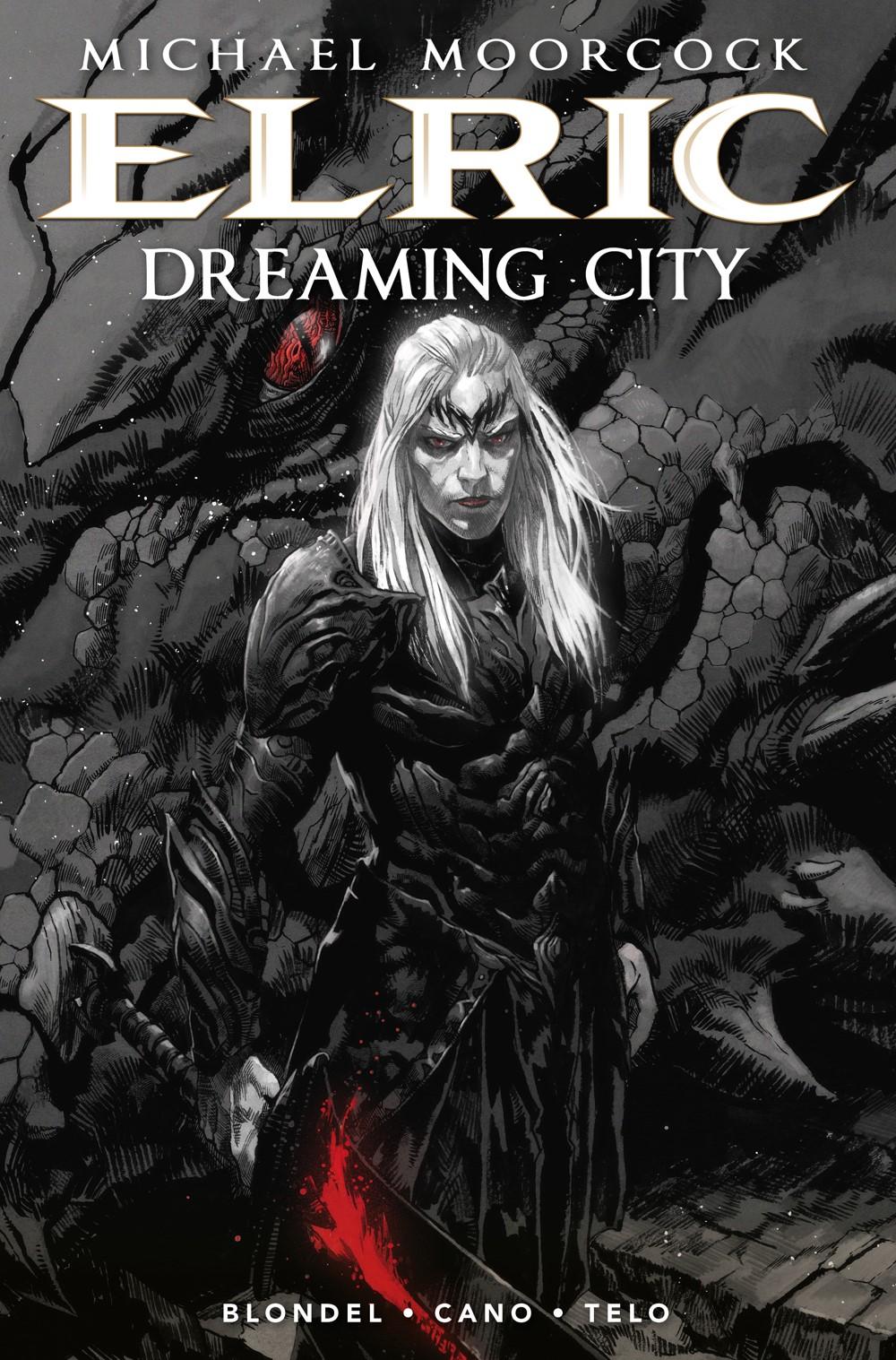 ELRIC-THE-DREAMING-CITY-HC-SECHER Titan Comics October 2021 Solicitations