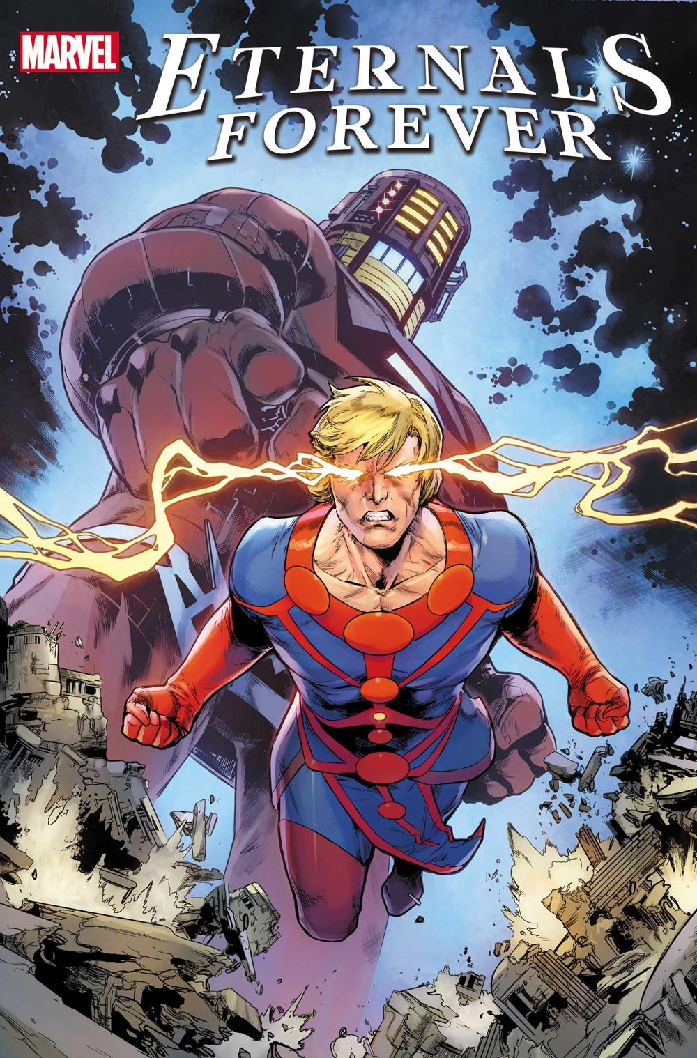 ETRNLSFOREVER2021_var_col Marvel Comics October 2021 Solicitations