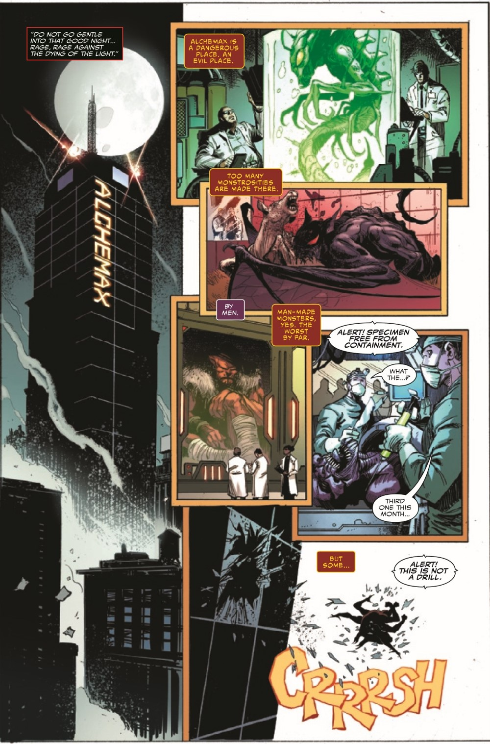 EXTCARNSC2021001_Preview-3 ComicList Previews: EXTREME CARNAGE SCREAM #1