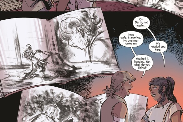 EmberAshes_SparkForgeOGN_019_PREVIEW Second AN EMBER IN THE ASHES graphic novel arrives in 2022