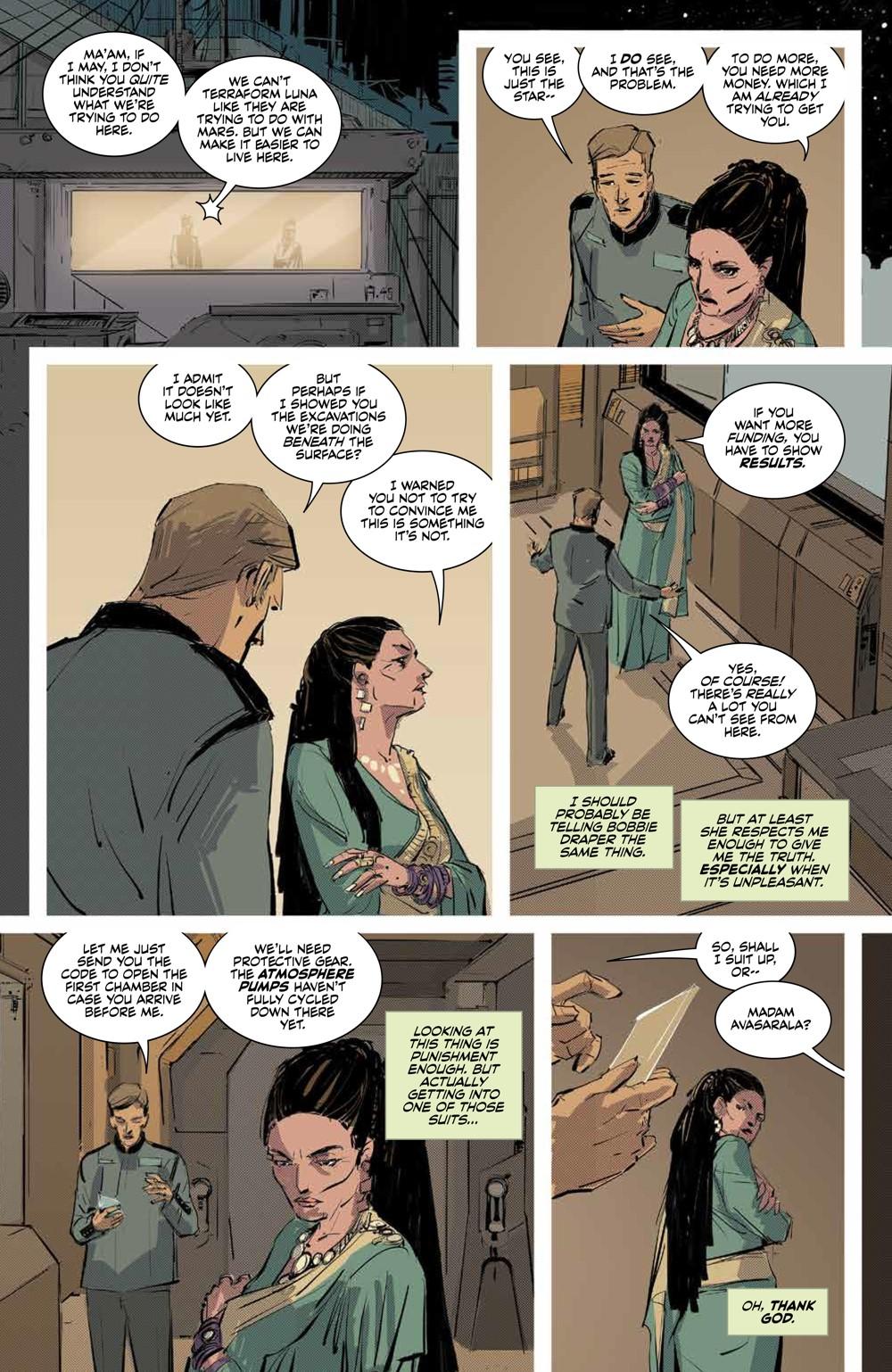 Expanse_SC_PRESS_13 ComicList Previews: THE EXPANSE TP