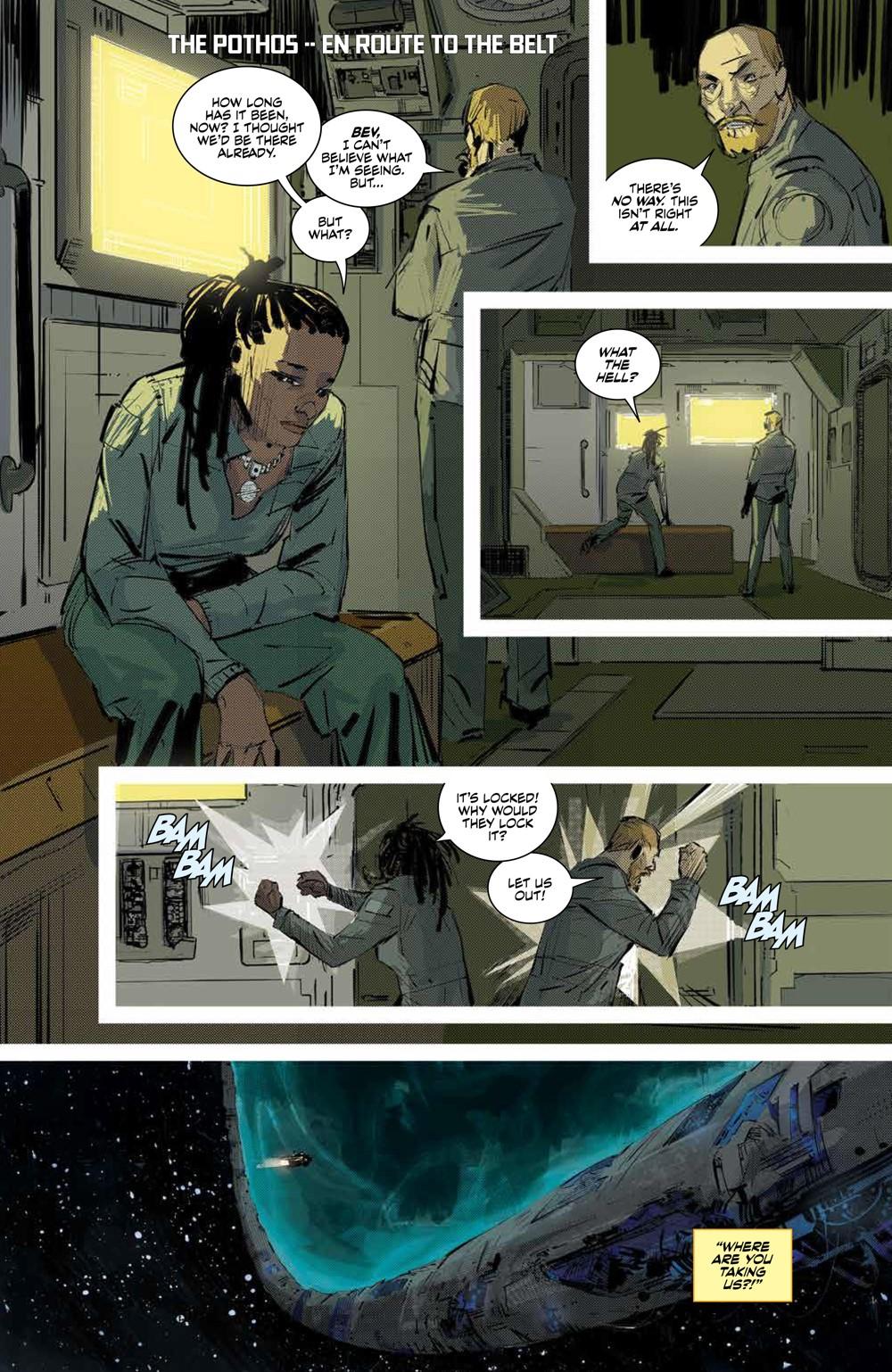 Expanse_SC_PRESS_9 ComicList Previews: THE EXPANSE TP
