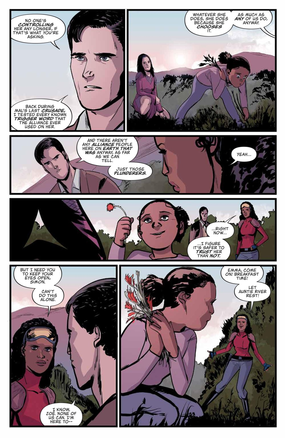 Firefly_031_PRESS_8 ComicList Previews: FIREFLY #31